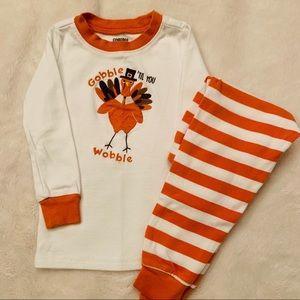 Gymboree 2T Thanksgiving pajamas